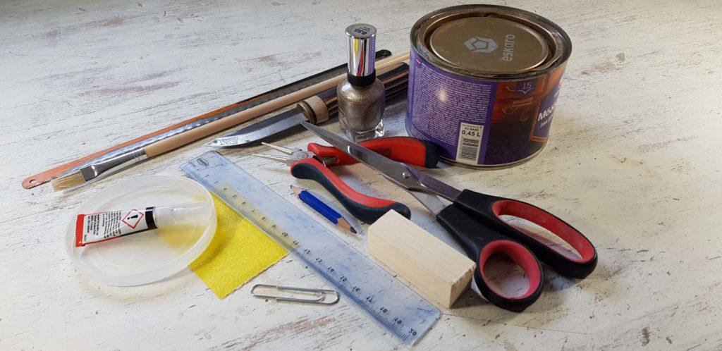 Tööriistad landi valmistamiseks